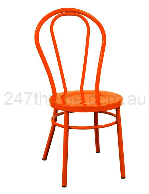 Orange Bentwood Chair 247
